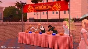 поедание бургеров