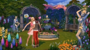 The Sims 4 Романтический сад