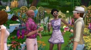 Новая одежда из видео The Sims 4 Романтический сад