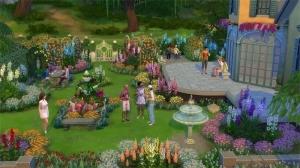Украшения для сада в каталоге The Sims 4 Романтический сад