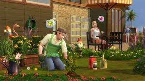 Садовник в Симс 4
