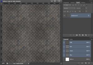 Редактирование текстуры Diffuse в Photoshop