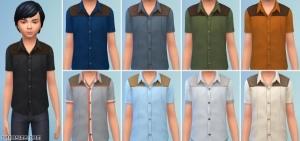Детские рубашки для девочек и мальчиков