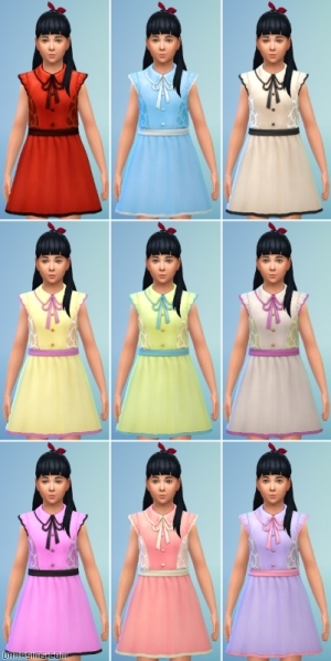 Детские платья из каталога для девочек