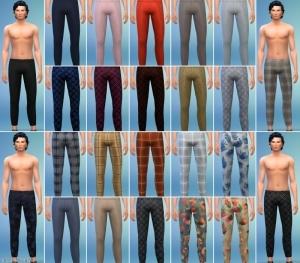 Мужские брюки – каталог Симс 4 Романтический сад