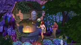 Шепчущий колодец желаний в каталоге «Симс 4 Романтический сад»