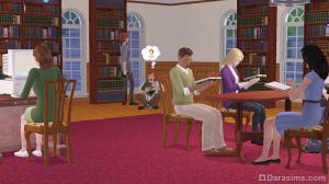 библиотека студенческого городка