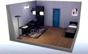Офис Деконструктивизм - разблокированная комната в карьере преступника