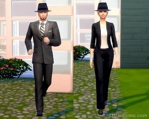 Рабочая одежда авторитетов и начальства в карьере преступника
