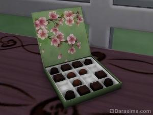 Шоколадные конфеты в Симс 4