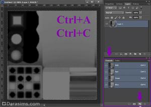 Рисуем текстуру specular в Photoshop