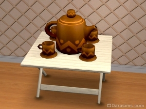Гончарное изделие - чайный сервиз