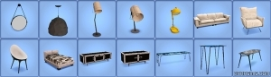 новые предметы в режиме покупок симс 3 дизель