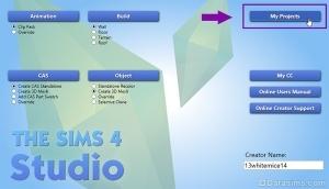 Запуск Sims 4 Studio