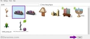 Клонирование объекта в Sims 4 Studio