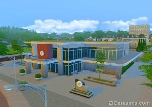 Больница в Симс 4