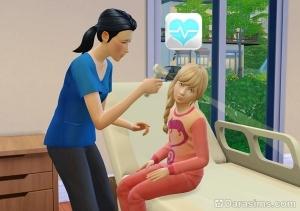 Врач осмотривает уши пациента