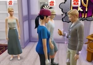Вызов на дом в карьере врача Sims 4