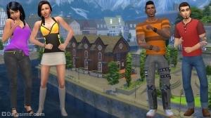 Семья Праздом в The Sims 4