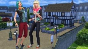 Sims 4 Винденбург семья Бер
