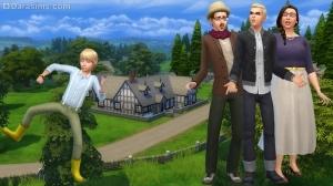 Семья Манч в Sims 4