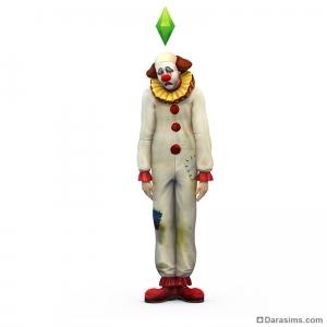 клоун в sims 4