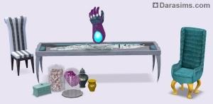 Мебель в каталоге Симс 3 Кино