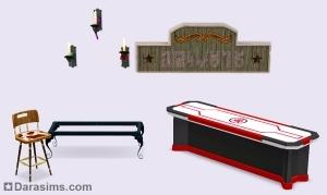Каталог Симс 3 Кино новые объекты