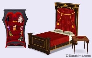 Мебель в каталоге The Sims 3 Movie Stuff