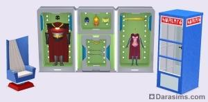 Предметы из каталога The Sims 3 Movie Stuff
