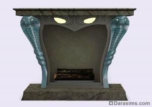 Камин в каталоге Симс 3 Кино