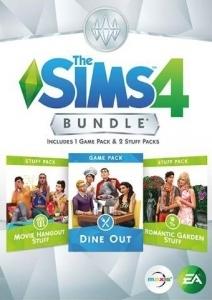 Обложка комплекта с игровым набором The Sims 4 Dine Out