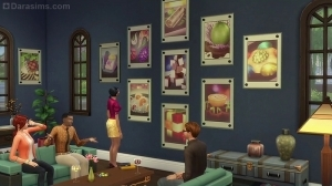 Sims 4 Dine out