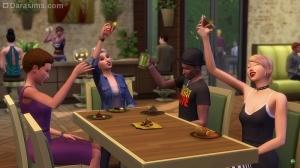 Вино и нектар Симс 4 В ресторане