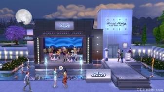 Кафе на улице в игровом наборе «The Sims 4 В ресторане»