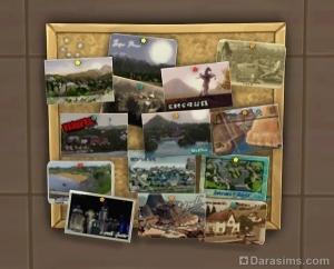Симс 4 открытки