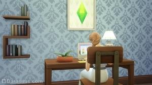 Усыновление ребенка через компьютер в Симс 4