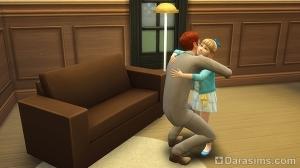 Взаимодействие родителя с ребенком