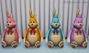 Игрушечный кролик Буня в Симс 4