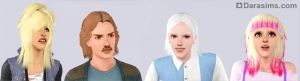 Новые прически в Симс 3