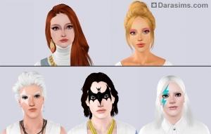 Новый макияж в Симс 3 каталоге