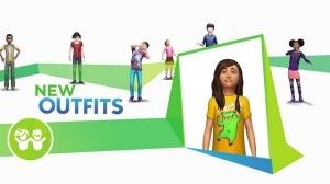 Новые прически и одежда в Симс 4 Детская комната
