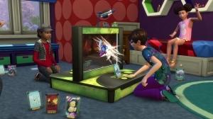 Карточная игра Космические монстры в Симс 4