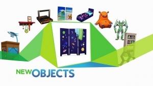 Новые предметы каталога Симс 4 Детская комната