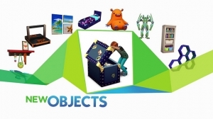 Новые объекты в каталоге Симс 4 детская комната