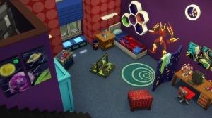 Комната любителя игр и фантастики