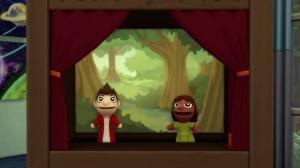 Представление в кукольном театре
