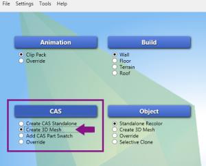 Создание package файла в Sims 4 Studio