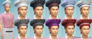 Поварской колпак в The Sims 4 В ресторане