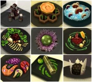 Экспериментальные блюда в Симс 4 В ресторане